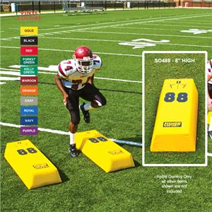 Fisher SO488 Stepover Football Agility Dummies