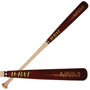 D-Bat Pro Maple-141 Two-Tone Baseball Bats