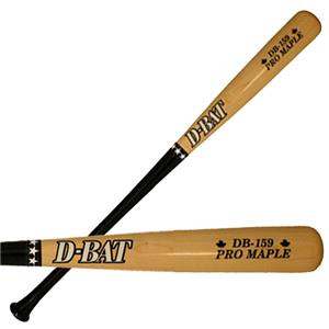 D-Bat Pro Maple-159 Two-Tone Maple Baseball Bats