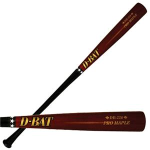 D-Bat Pro Maple-226 Two-Tone Baseball Bats