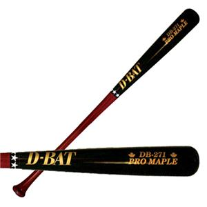D-Bat Pro Maple-271 Two-Tone Baseball Bats