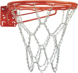 Bison Front Mount Double-Rim Basketball Goal