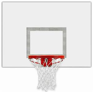 Bison Perpetual White Aluminum Backboard