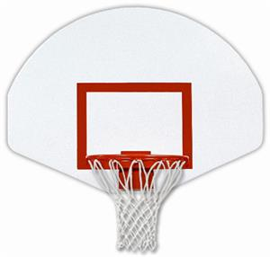 Bison Dura Steel Fan-Shaped Basketball Backboard