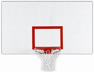 Bison Official Size Rectangular Steel Backboard