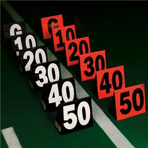 Fisher Triangular Football Side Line Markers