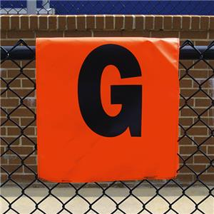 Fisher Football Fence Mount Sideline Markers