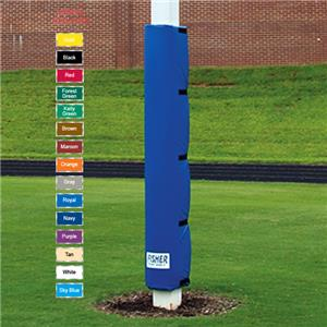 Fisher 6' Vinyl Covered Football Pole Pads