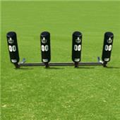 Fisher 4 Man Football Brute 2 Sleds w/ Round Pads