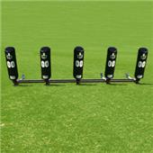 Fisher 5 Man Football Brute 2 Sleds w/ Round Pads