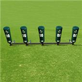 Fisher 5 Man Football Brute 2 Sleds w/ Cone Pads