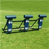 "Fisher 3 Man Football 9800 Sleds w/ ""T"" Pads"