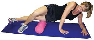 Tandem Sport Pro-Tec Pink Foam Roller