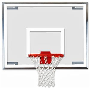 "Bison 42"" x 54"" Unbreakable Glass Backboard"