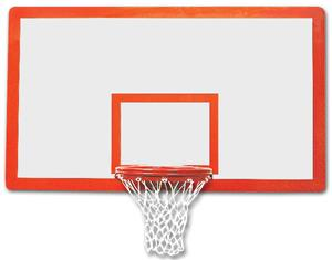 "Bison 42""x72"" Tuffglass Rectangular Backboard"