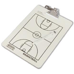 Tandem Sport Coaches' Basketball Clipboard