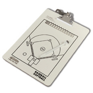 Tandem Sport Coaches' Baseball Clipboard