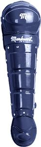 "17"" Single Knee Cap Baseball Leg Guards Ages 12+"