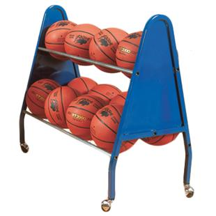 Bison 12 or 18 Heavy Duty Basketball Carts