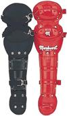 "14"" Double Knee Cap Baseball Leg Guards w/ Wings"
