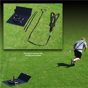Fisher Football Pull Sled and Harness Set