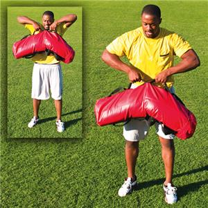 "Fisher Football Strength Training ""Log"" Bags"
