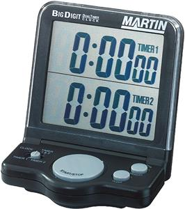 Martin Dual Timer-Clock w/Jumbo Display