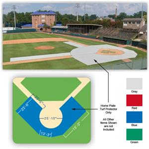 Fisher Baseball Home Plate Turf Protectors