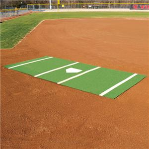 Fisher Softball Home Plate Mats