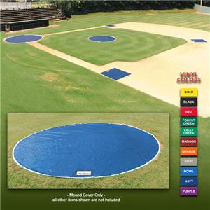 Fisher Baseball 10&#39; Diameter Vinyl Mound Covers