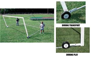 Bison Tip and Roll Soccer Goal Wheel Kit
