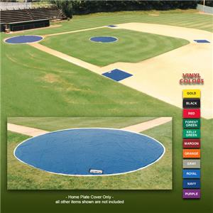 Fisher Baseball 18 oz. Vinyl 20&#39; Home Plate Covers