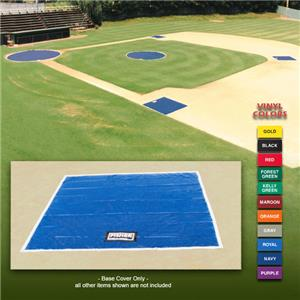Fisher Baseball 18 oz. Vinyl 10&#39; Sq. Base Covers