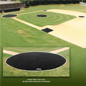 Fisher Baseball 6 oz. Poly 20&#39; Home Plate Covers