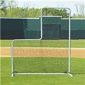 L-Shaped Pitcher Protector Screen (NET ONLY)