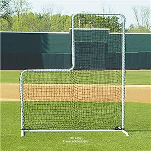 Fisher L-Shaped Pitcher Protector Screen Nets