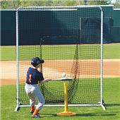 Fisher 6'x7' Baseball Batters Net and Frame