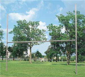 Bison H-Style 3 1/2&quot; Galvanized Football Goalposts