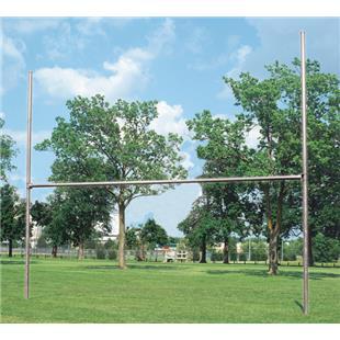 """Bison H-Style 3 1/2"""" Galvanized Football Goalposts"""