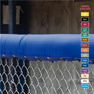 Fisher Baseball 10&#39; Chain Link Fence Top Padding