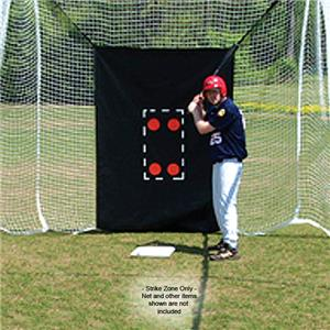 Fisher Baseball 5&#39;Wx7&#39;H Strike Zones / Net Savers