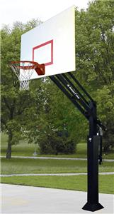 Bison Ultimate Adjustable Steel Basketball Systems