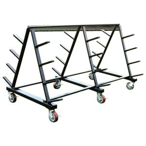 Fisher Basketball Floor Cover Carts