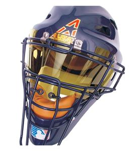 BANGERZ, Hockey Style Catcher&#39;s Helmet Eyeshield 
