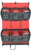 Markwort Hanging Baseball Helmet Bags - Holds 6