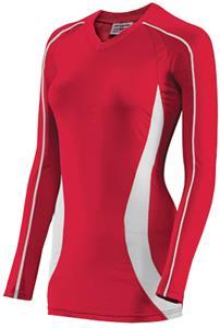 Teamwork Women Cobra Long Sleeve Volleyball Jersey