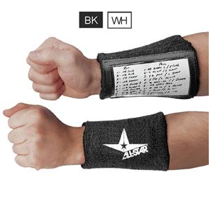 ALL-STAR Youth Window Football QB Wristbands
