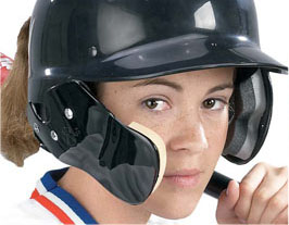 Markwort Baseball C-Flap Jaw &amp; Cheek Protection