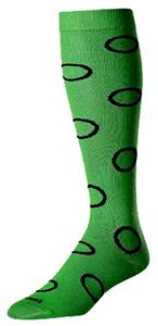 Twin City Krazisox Circles Socks - Closeout