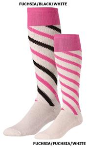 Twin City Candy Stripe Pink Soccer Socks